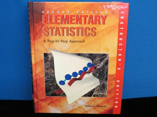 9780697243485: Elementary Statistics: A Step by Step Approach