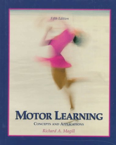 9780697246523: Motor Learning: Concepts and Applications (Brown & Benchmark)
