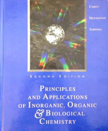 9780697250032: Principles & Applications of Inorganic, Organic, & Biological Chemistry