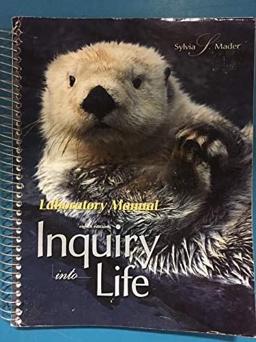 9780697251831: Inquiry into Life: Laboratory Manual