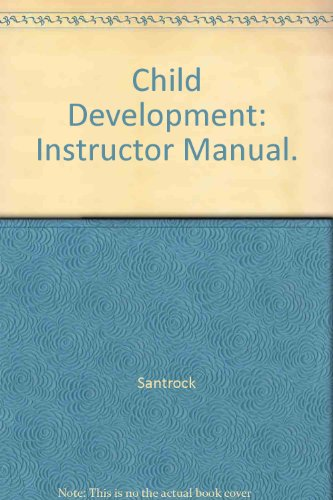 9780697253507: Child Development: Instructor Manual.