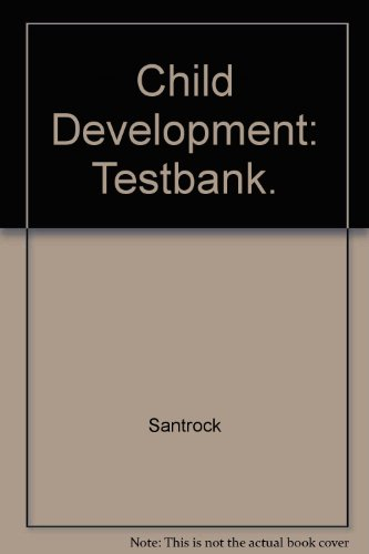 9780697253521: Child Development: Testbank.