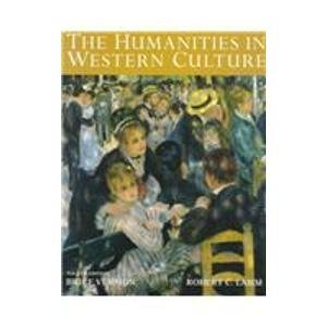9780697254252: Humanities in Western Culture, brief