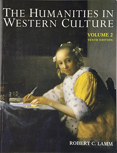 9780697254290: Humanities In Western Culture, Volume Two