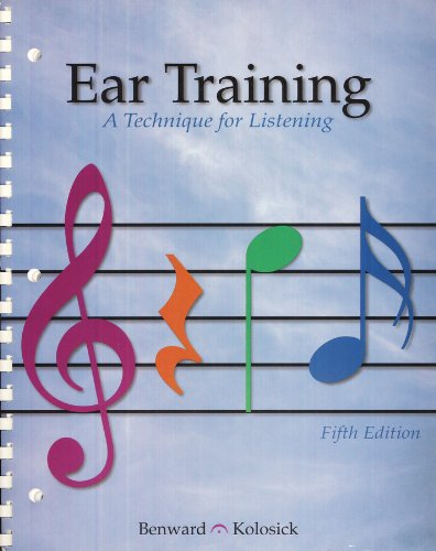 9780697258373: Ear Training: A Technique for Listening