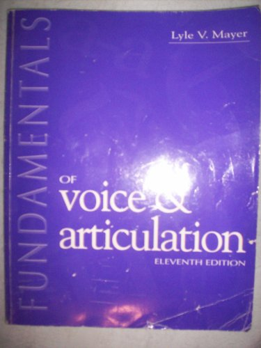 9780697270665: Fundamentals of Voice & Articulation