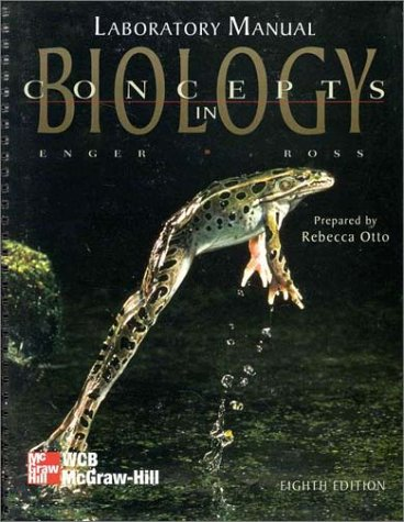 9780697272089: Concepts in Biology Lab Manual