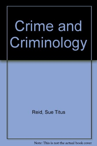 9780697274632: Crime and Criminology