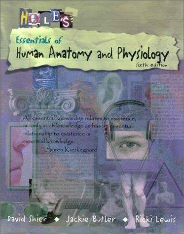 9780697282514: Hole's Essentials of Human Anatomy and Physiology
