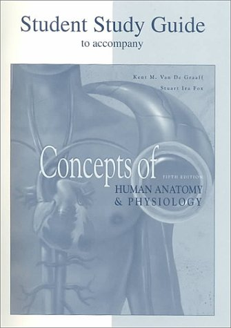 Student Study Guide-Concepts of Human Anatomy and: Kent M. Van