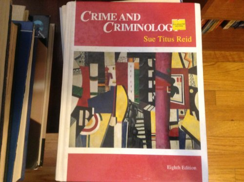 9780697289216: Crime and Criminology