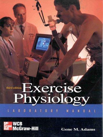 9780697295002: Exercise Physiology Laboratory Manual
