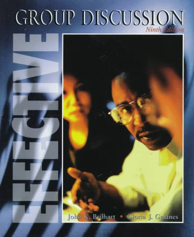 9780697327260: Effective Group Discussion, 9th Edition