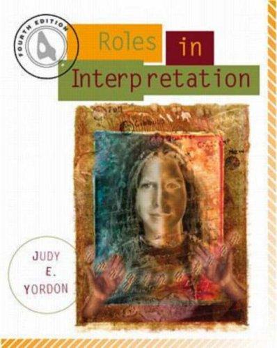 9780697327314: Roles in Interpretation