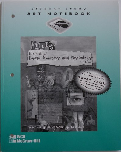 9780697329196: Holes Essentials of Human Anatomy and Physiology, 6/E, (Student Study Art Notebook)
