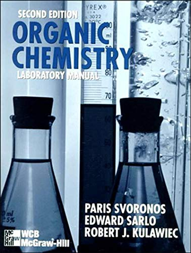 9780697339232: Organic Chemistry Laboratory Manual