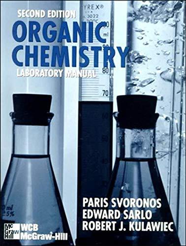 9780697339232: Organic Chemistry Laboratory Manual (WCB Chemistry)