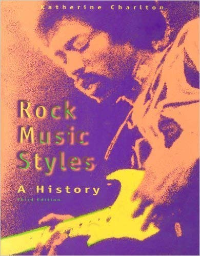 9780697340559: Rock Music Styles: A History