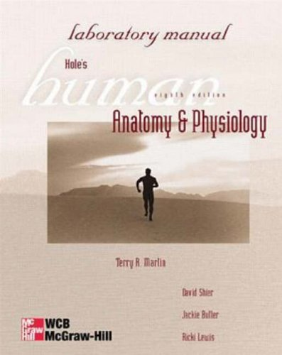 9780697342171: Hole's Human Anatomy & Physiology: Laboratory Manual