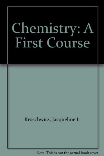 9780697342584: Chemistry: A First Course