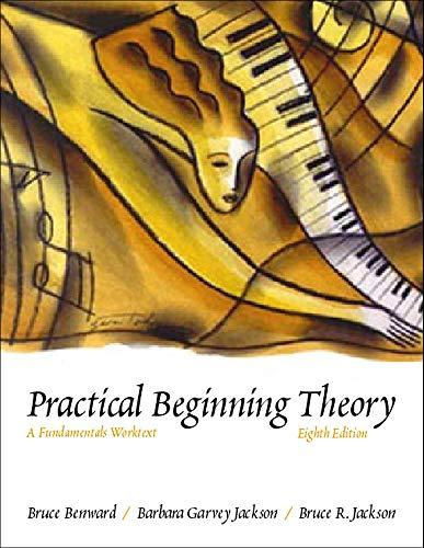 9780697343970: Practical Beginning Theory: A Fundamentals Worktext