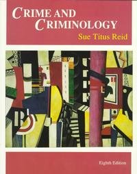 9780697352996: Crime and Criminology