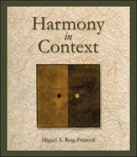 9780697354877: Harmony in Context