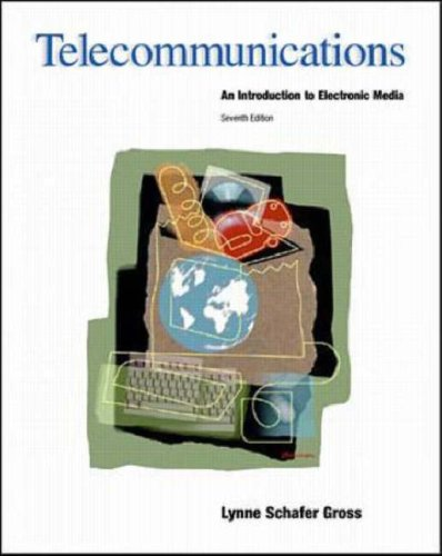 9780697355065: Telecommunications: An Introduction To Electronic Media