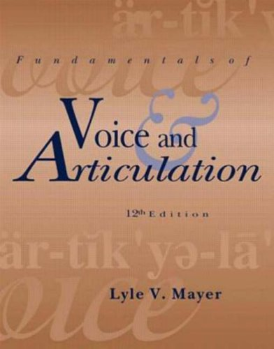 9780697355089: Fundamentals of Voice and Articulation