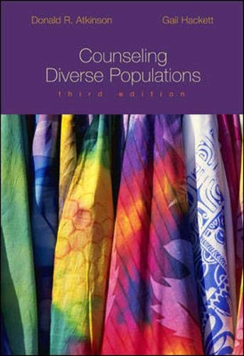 9780697361844: Counseling Diverse Populations