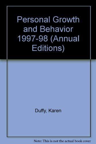 Personal Growth and Behavior 97/98 (17th ed): Duffy, Karen G.