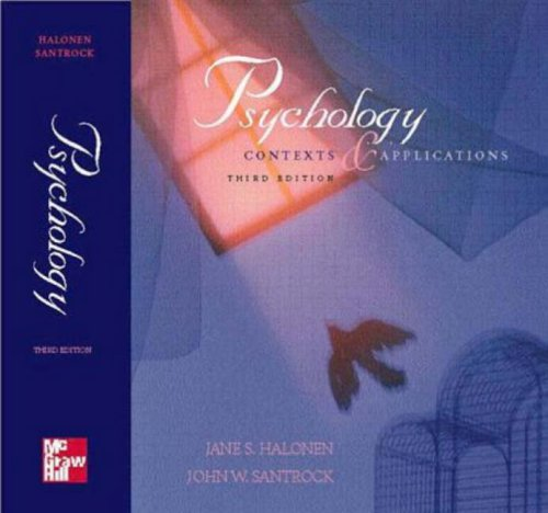 9780697376480: Psychology: Contexts and Applications
