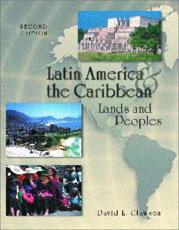 9780697384928: Latin America and The Caribbean: Lands and Peoples