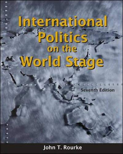 9780697385949: International Politics on the World Stage