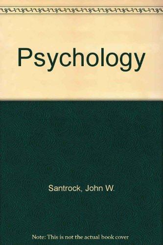 Psychology: Santrock, John W.