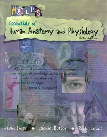 9780697418234: Essentials of Human Anatomy and Physiology (Textbook, Student Notebook)