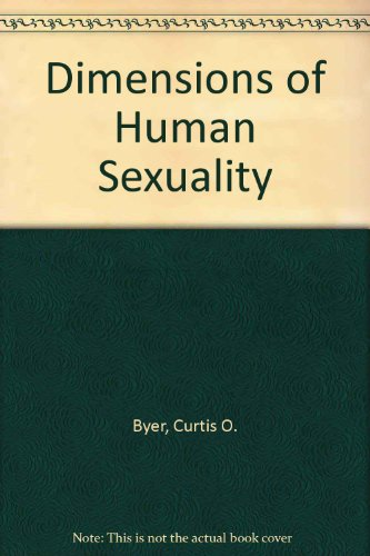9780697421920: Dimensions of Human Sexuality
