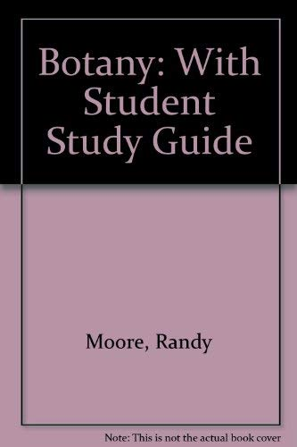 9780697423108: Botany/With Student Study Guide