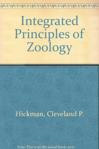9780697423290: Integrated Principles of Zoology