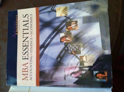 MBA Essentials (Ashford University): Accounting, Finance, Economics: D.L. Brownfield