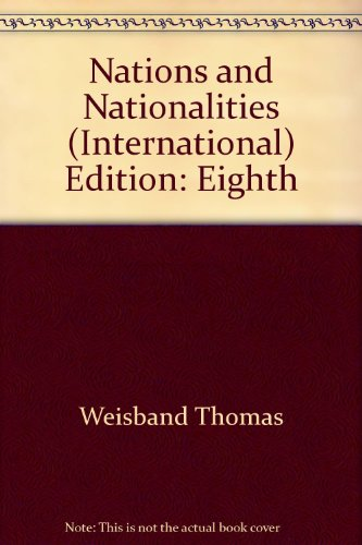 9780697781079: Nations & Nationalities Cultural Constructions of Collective Identity 8th Edition