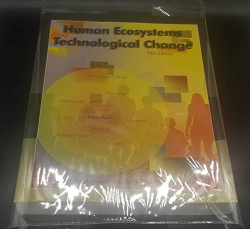 9780697784926: Human Ecosystems and Technological Change