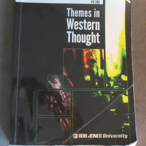 9780697792341: Themes in Western Thought, PH 200