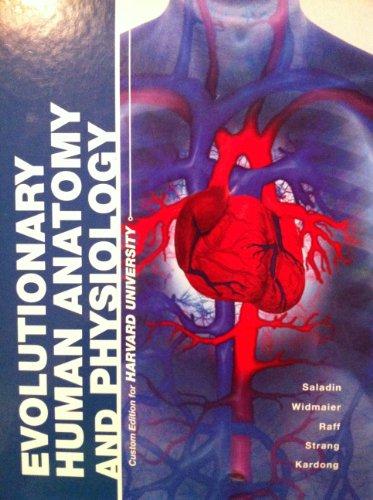9780697813220: Evolutionary Human Anatomy and Physiology Custom ...