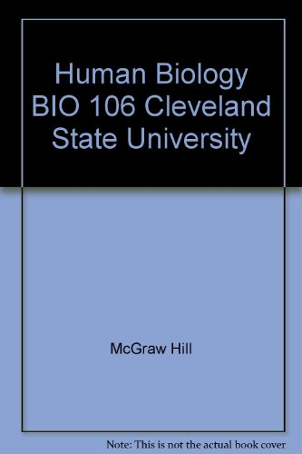 9780697799364: Human Biology BIO 106 Cleveland State University
