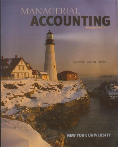 9780697804570: Managerial Accounting, Fourteenth Edition, New York University
