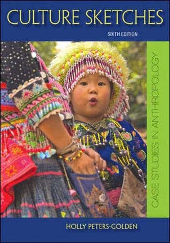 9780697808202: Culture Sketches Case Studies in Anthropology