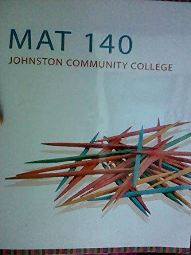 Math 140 Johnston Community College: Sobecki, Dave