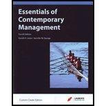 9780697812384: Essentials of Contemporary Management, Fourth Edition