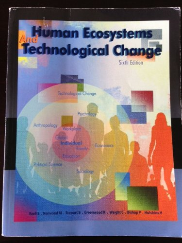 9780697813282: Human Ecosystems and Technological Change Sixth Edition